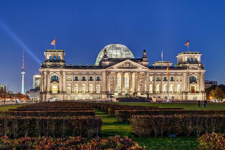 Reichstag Building in Berlin