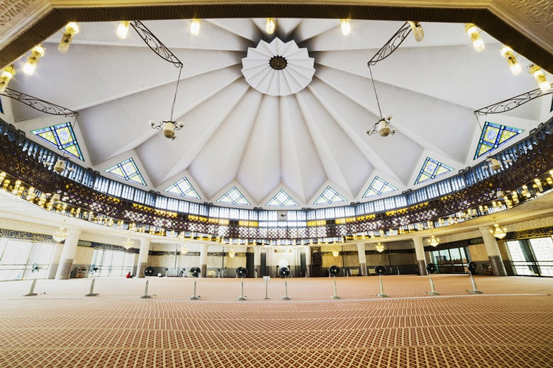 National Mosque (Masjid Negara) in Kuala Lumpur