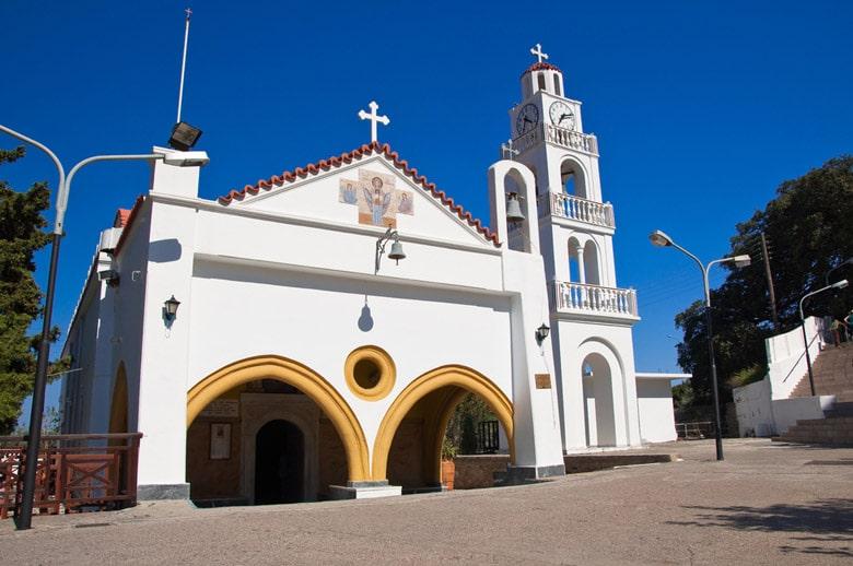 Monastery Tsambika in Rhodes