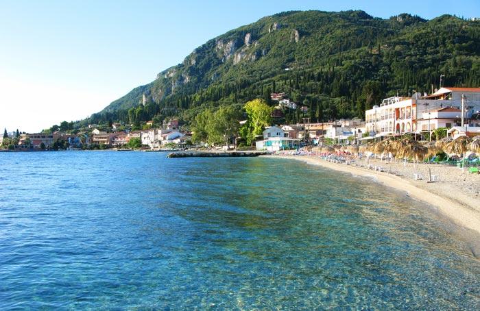 Benitses in Corfu