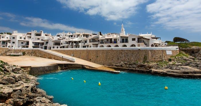 Binibeca Vell in Menorca