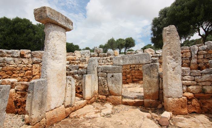 Torre d'en Galmes in Menorca