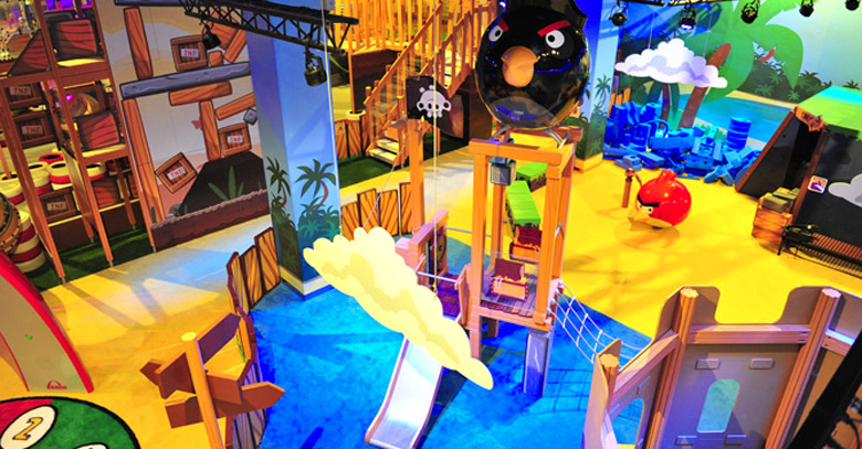 Captain Black Birds Ship inside Angry Birds Activity Park in Johor Bahru