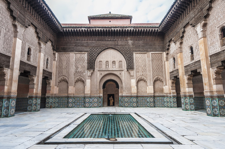 Ben Youssef Madrasa in Marrakesh