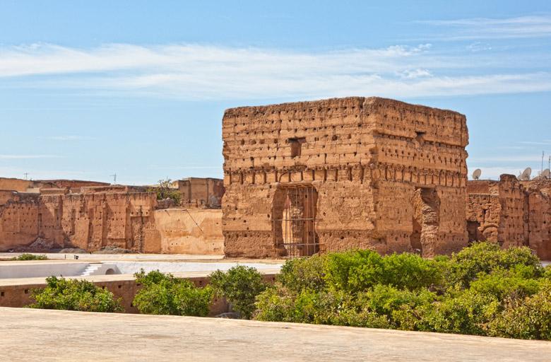 El Badi Palace in Marrakesh