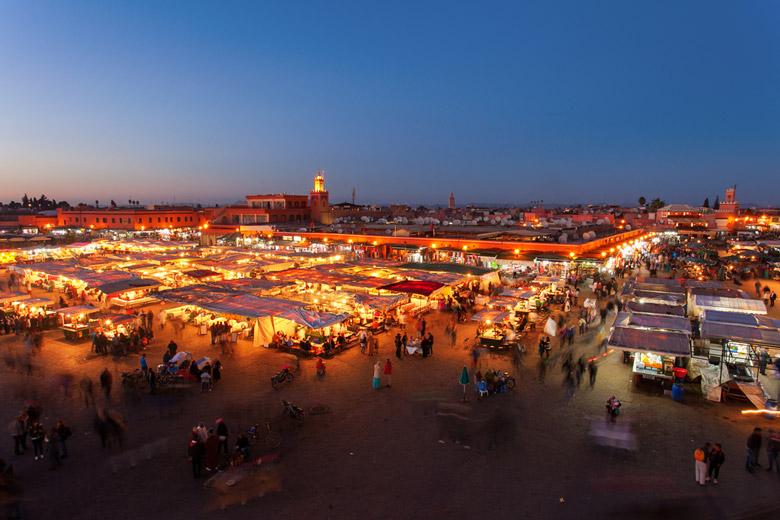 Jemaa el-Fna in Marrakesh