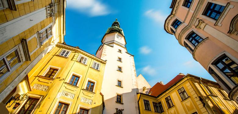 Michael's Tower in Bratislava