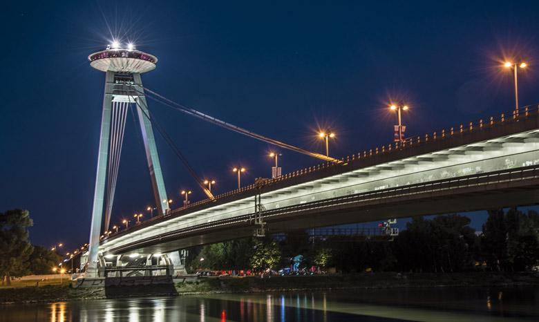 UFO Observation Deck in Bratislava