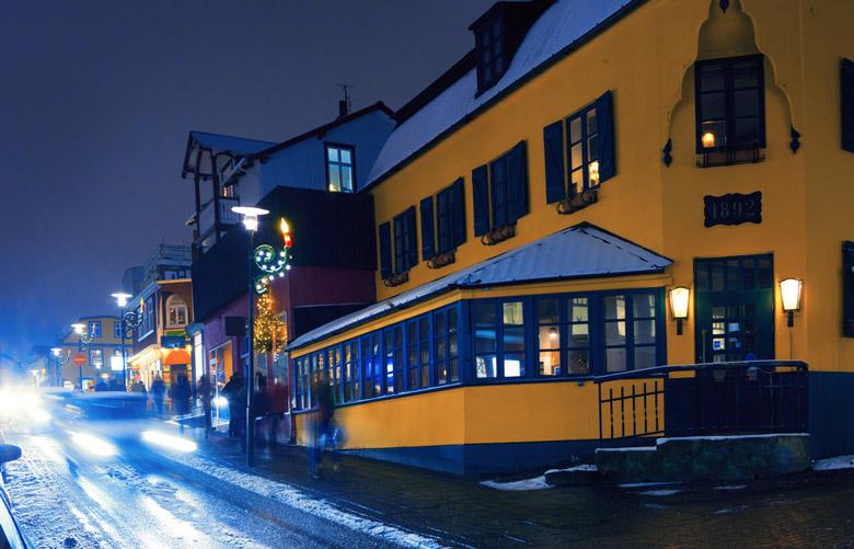 Laugavegur in Reykjavik