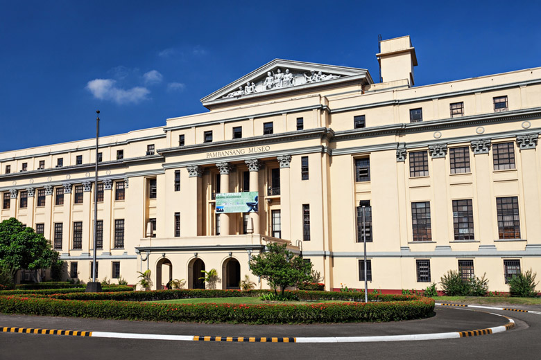 The National Museum of the Philippines in Manila