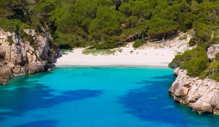 Cala Macarelleta in Menorca