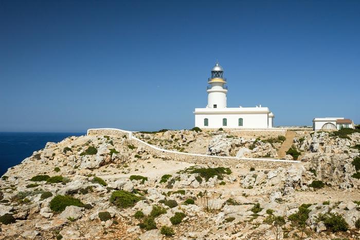 Cap de Cavalleria in Menorca