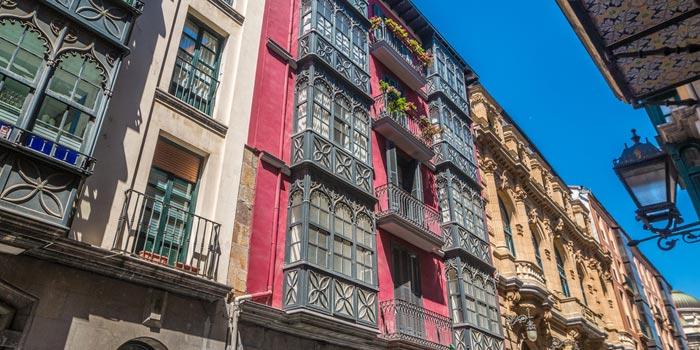 Casco Viejo in Bilbao