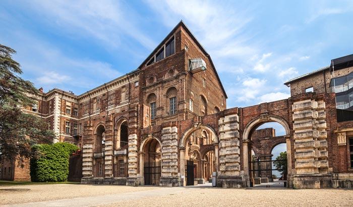 Castello di Rivoli in Turin