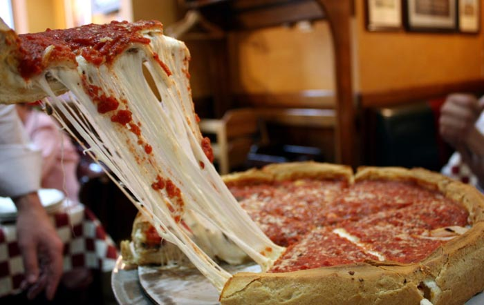 Chicago Cuisine – deep-dish pizza