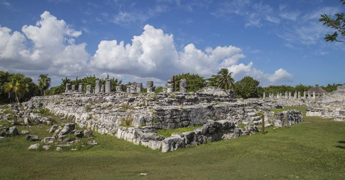 El Rey Archaeological Zone in Cancun