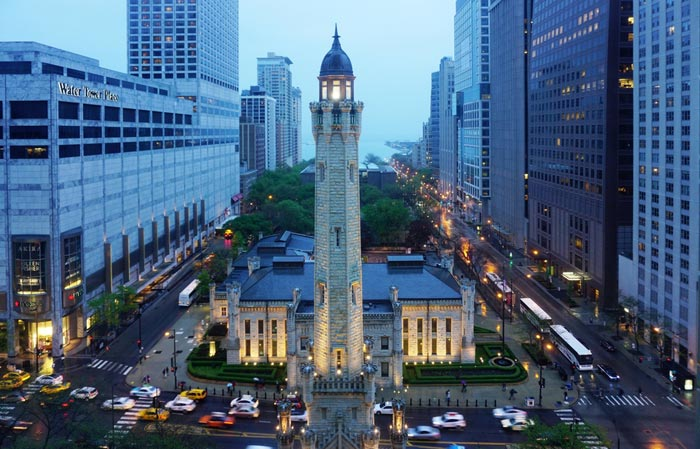 The Magnificent Mile in Chicago