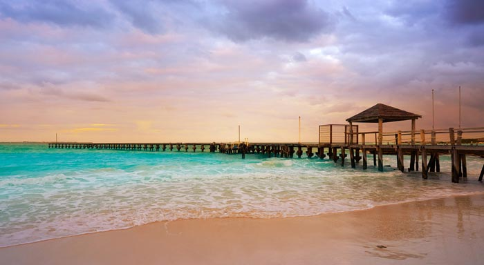 Playa Caracol in Cancun