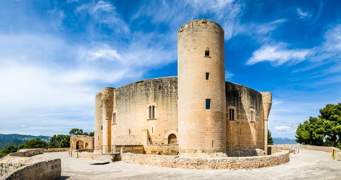Bellver Castle in Majorca