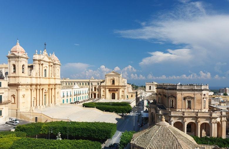 Centro Storico di Noto in Sicily