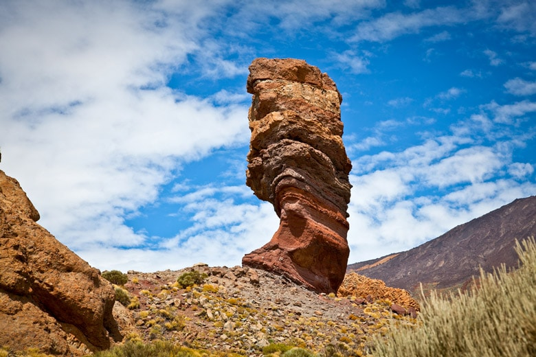 Close-up of Los Roques de Garcia in Tenerife