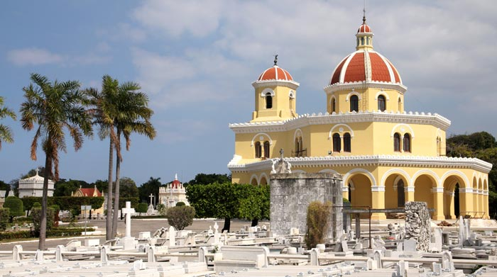 Colon Cemetery in Cuba