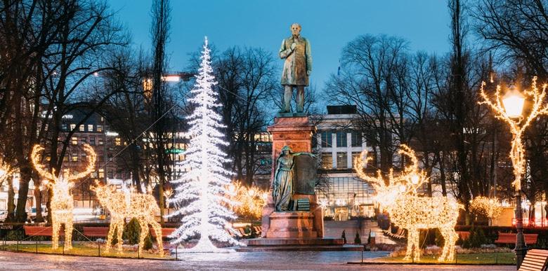 Esplanadi Park in Helsinki