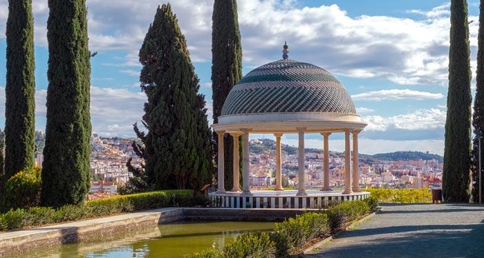 Jardin Botanico Historico la Concepcion in Malaga