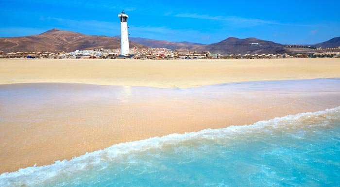 Playa del Matorral in Fuerteventura