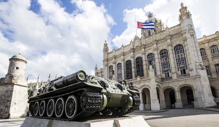 Museo de la Revolucion in Cuba
