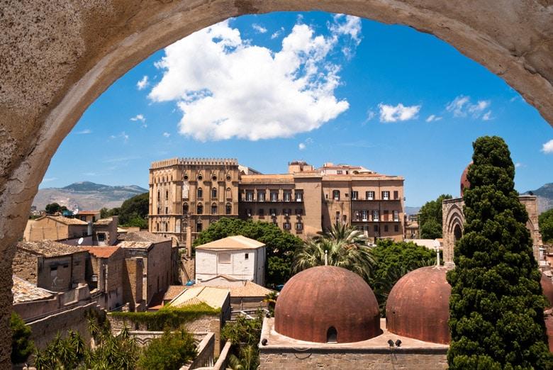 Palazzo dei Normanni e Cappella Palatina in Sicily