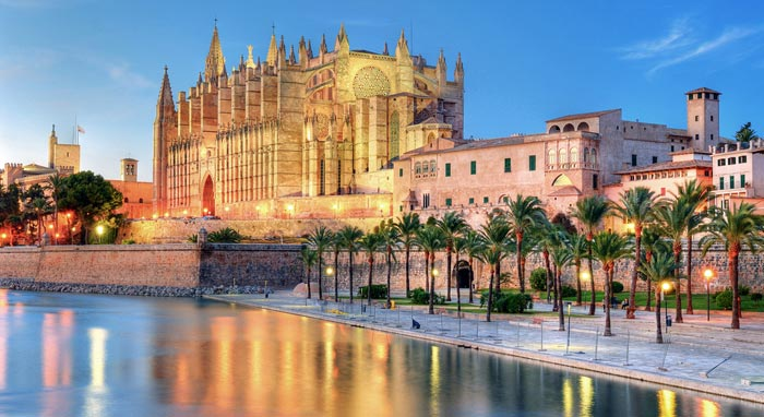 Palma Cathedral in Majorca
