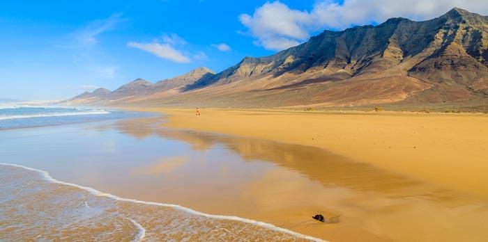 Playa de Cofete in Fuerteventura