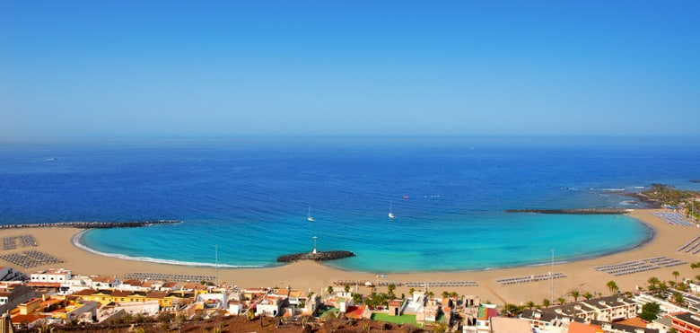 Playa de las Vistas in Tenerife