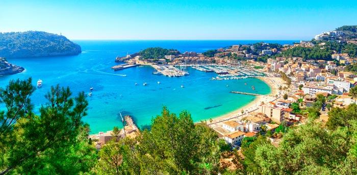 Puerto de Soller in Majorca