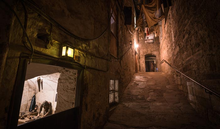 Real Mary King's Close in Edinburgh