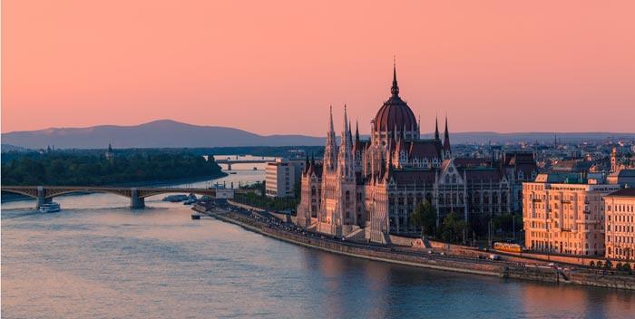 River Danube in Budapest