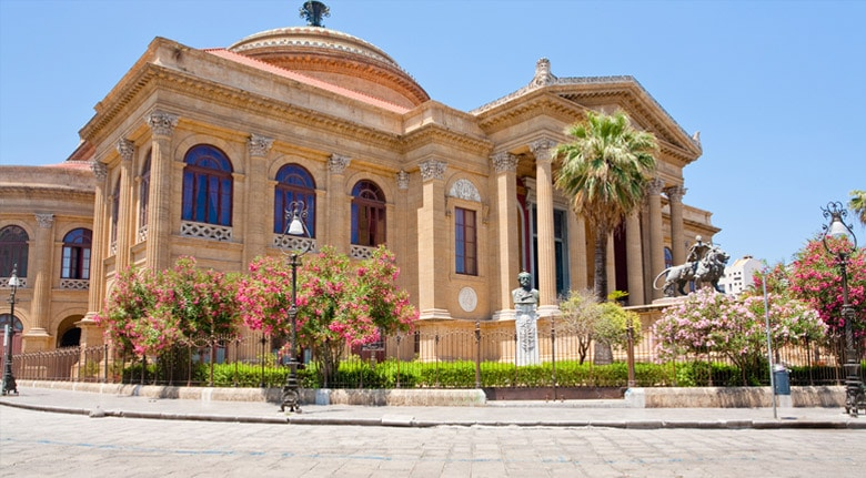 Teatro Massimo in Palermo