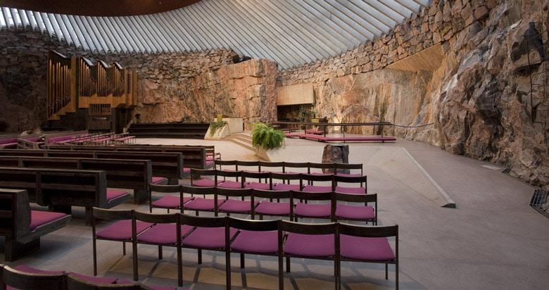 Church in the Rock in Helsinki