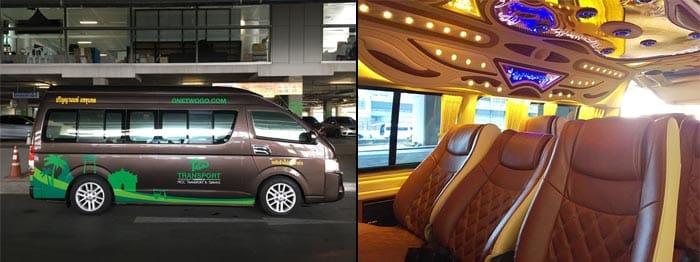 Z Bangkoku do Ayutthayi minibusem