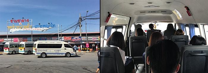 Bangkok to Hua Hin by minivan