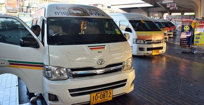 Bangkok to Kanchanaburi by Minibus/Minivan