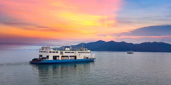 Bangkok to Koh Chang by flight, bus and ferry