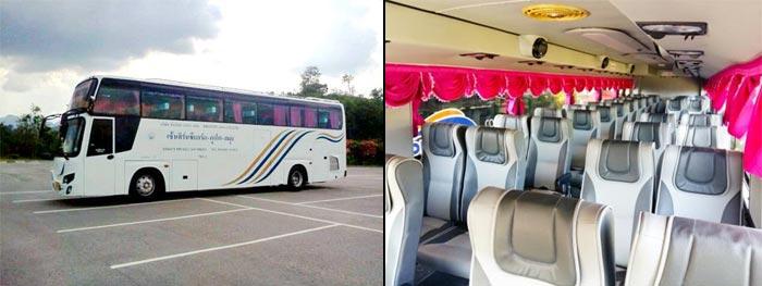 Bangkok to Koh Lanta by Train and Bus