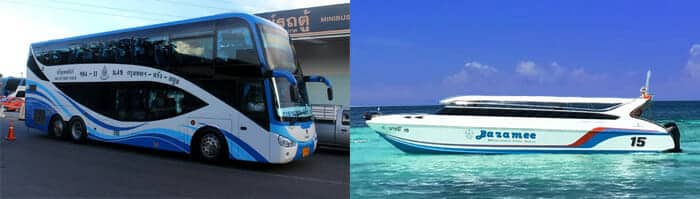 Bangkok to Koh Lipe by bus