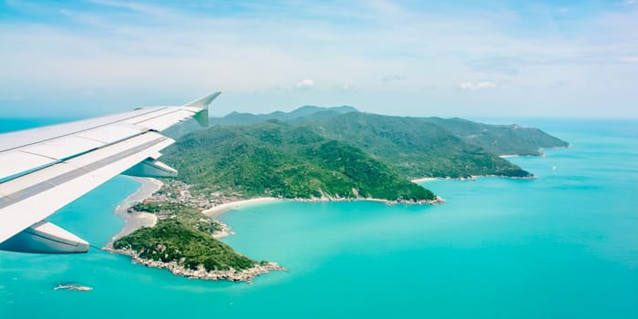 Bangkok to Koh Phangan by plane and ferry