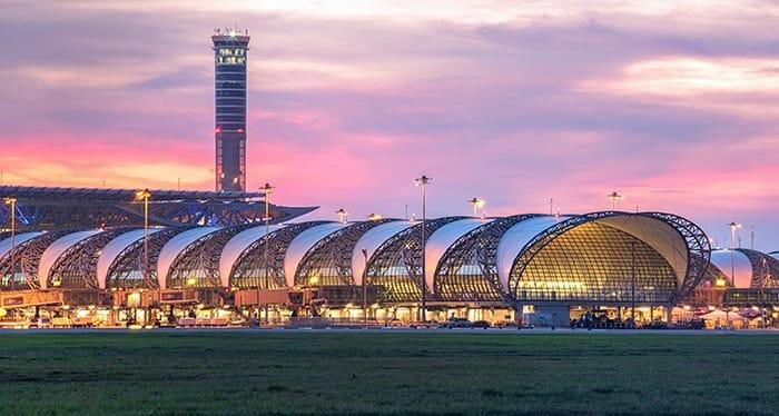 Bangkok to Koh Phi Phi via Suvarnabhumi Airport