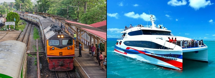 Bangkok to Koh Tao by train and ferry