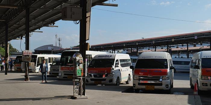 Bangkok to Krabi by Minibus