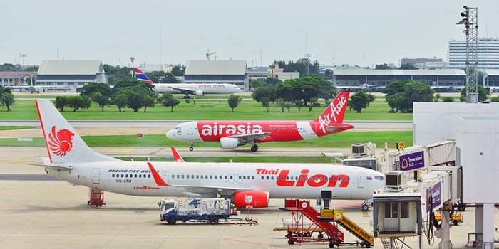 Da Bangkok a Krabi in aereo